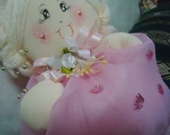 Boneca Princesa centro de mesa