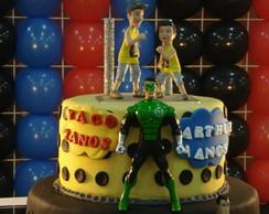 Topo de bolo Infantil Na Festa
