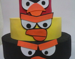 Bolo Falso do Angry Birds