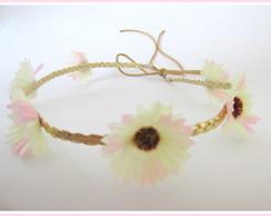 Tiara/Headband/Coroa de Flores