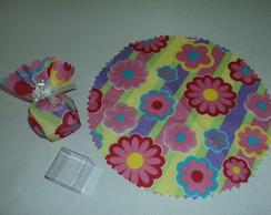 Caixa de Acr�lico embalada em tecido.