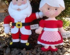 Casal Papai e Mam�e Noel