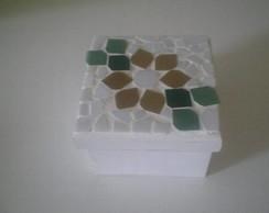 082: Caixinha mosaico flor