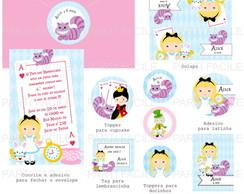 kit Digital festa Alice