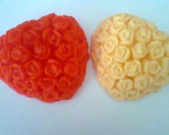 Sabonete Cora��o com Flores