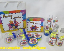 Kit Festa Backyardigans Compl.- 60 pe�as