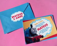 Convite Thomas e seus amigos