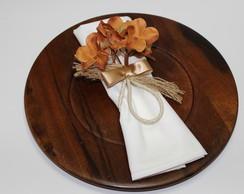 Porta - guardanapo Floral Golden II