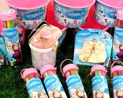 Kit Colorir Frozen para Meninas