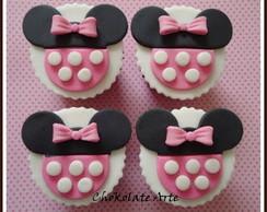 Cupcake Minie Rosa