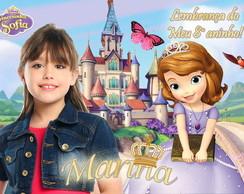 Lembrancinha Princesa Sofia 10x7
