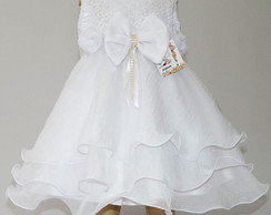 Vestido Infantil Croch� Banco:484395