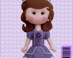 Apostila de Feltro Princesa Sofia
