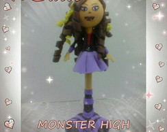 CANETA BONECA EVA MONSTER HIGH