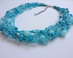 Conjunto Blue Waves Rock Cherry