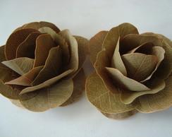 Flores de folhas secas