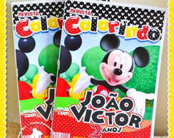 Revista Personalizada Mickey Mouse