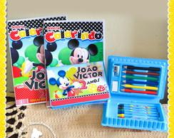 Revista E Estojo Mickey Mouse