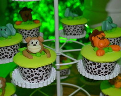 Wrapper para Cupcake Tema Safari