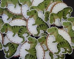 Apliques em adesivo Dinossauros