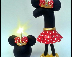 Kit velas Minnie Princesa-Proibido c�pia