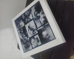 Caixa d emadeira com fotos