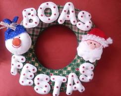 Guirlanda natalina - Boas Festas