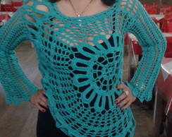 Blusa Crochet Ana Maria