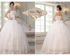 Vestido de Noiva Princesa Brilho