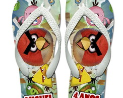 Chinelos Personalizados Angry Birds 2
