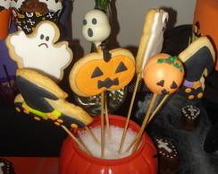 Biscoitos Decorados Halloween