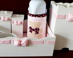 Kit Higiene Floral & Po� Ursa