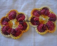 Flor em croch�
