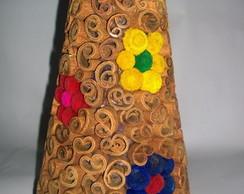pinheiro de canela com flores