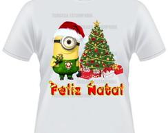 Camiseta Minions Natal