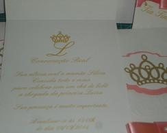 Convite para Ch�s de Beb�