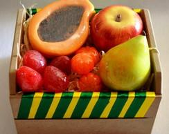 Caixa de Frutas Sabonete Lembrancinha