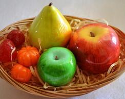 Cesta de Frutas Sabonete Lembrancinha 2