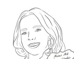 Caricatura Digital Preto e Branco