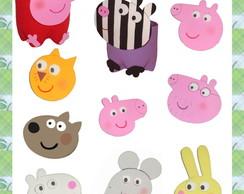 Molde Peppa Pig e amigos para Pet