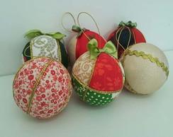 Bolas para decora��o de Natal