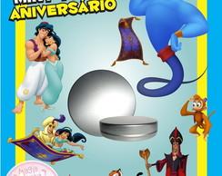 Latinha Anivers�rio - Aladdin
