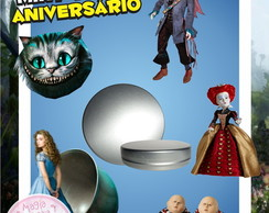 Latinha Anivers�rio - Alice Filme