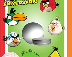 Latinha Anivers�rio - Angry Birds