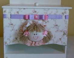 Porta Fraldas - Cole��o Princesas Rosa