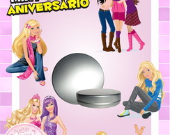 Latinha Anivers�rio - Barbie