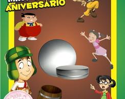 Latinha Anivers�rio - Chaves