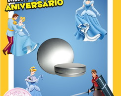 Latinha Anivers�rio - Cinderela