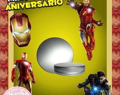 Latinha Anivers�rio - Homem de Ferro