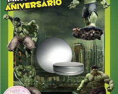 Latinha Anivers�rio - Hulk
